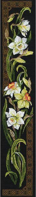 Daffodils - Cross Stitch Kit
