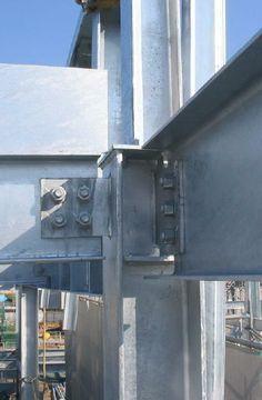 鉄骨造 Metal Building Homes, Building Design, Building A House, Construction Container, Steel Structure Buildings, Steel Frame House, Industrial, Engineering, Projects