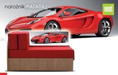Od ręki, transport GRATIS! Narożnik Patataj (#Samochód) #car #bad