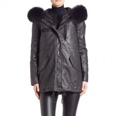 --evaChic--It's functional, cozy, and multi-purpose! This Alice + Olivia Tandy Oversize Hooded Parka & Fur Vest is the combination of two independent pieces you can layer together or mix with other stunners. The first piece is a fur-trim hooded parka and the second piece is a multi-color fox vest. The contrast is bold and attention-grabbing.         http://www.evachic.com/product/alice-olivia-tandy-oversize-hooded-parka-fur-vest/