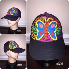 ✨Mily Molas Y Mas✨ (@mily_molas) | Instagram photos and videos Sun Visor Hat, Visor Hats, Andrea Gonzalez, Decorated Shoes, Instagram Story, Instagram Posts, Knit Crochet, Baseball Hats, Embroidery