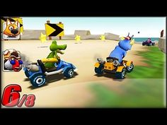 Love Mario Kart? Well here is something that you would like. Go Kart Go! Nitro! is similar to Mario Kart but with different racers and different power-ups. Gameplay are the same but tracks are different. Race through different tracks and try to get as much stars as you can to open up a new race track. Pick whichever racer you like and start racing! Go Kart Go! More info and link to play game, you can find it here: http://www.freegamesexplorer.com/games/videos/go-kart-go-nitro/