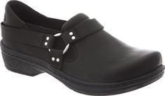 Klogs Harley Clog - Black Leather - FREE Shipping & Exchanges | Shoebuy.com