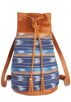 Name It and Win It Week 1 Backpack. Enter the Poetry Edition of our Name It and Win It Contest! #blue #modcloth