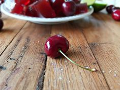 Cherry Lime Gelatin