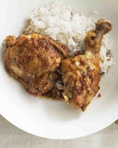 Chile-Garlic Chicken Legs