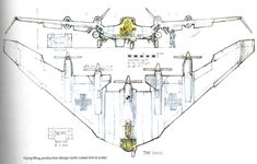 Raiders of the Lost Ark (1981) - Nazi flying wing concept by Ron Cobb.