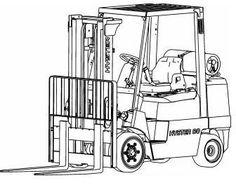 Toyota Diesel Forklift Truck: 8FDU15, 8FDU18, 8FDU20