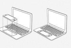 Apple запатентовала технологию превращения айфона в макбук #apple #iphone #macbook #macbookair #айфон #айфончик #макбук #макбукпро #мак #iprovoda