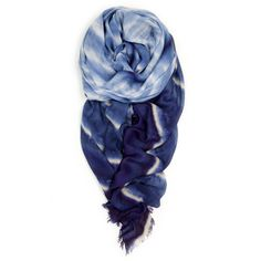 """""Wave"""" Scarf in Marine"