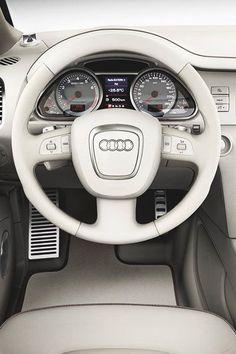 El interior de un Audi Q7