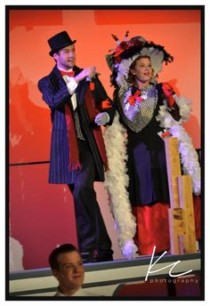 """George & Eleanor Widener in """"Titanic the Musical"""" at Fabrefaction Theatre Co."""
