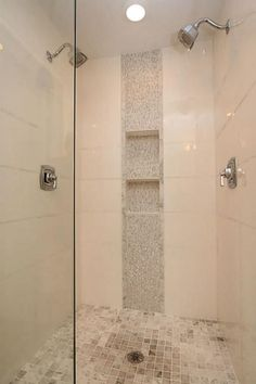 accent tile in shower - Google Search