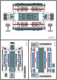 PAPERMAU: Intercity 2 Double-Deck Train Paper Model For Kids - by Olis Bahnwelt
