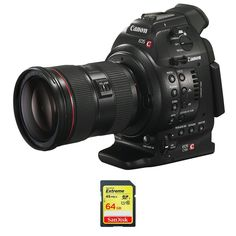 Canon EOS C100 Cinema EOS Camera (Body Only) + Canon EF 24-70mm f/2.8L II USM Standard Zoom Lens + SanDisk Extreme 64GB SDXC UHS-1 Flash Memory Card $6,399.00 & FREE Shipping http://www.amazon.com/gp/product/B00KHABXMM/ref=as_li_qf_sp_asin_il_tl?ie=UTF8&camp=1789&creative=9325&creativeASIN=B00KHABXMM&linkCode=as2&tag=candykushsaga-20&linkId=NIYS7RE2RAM3VWXS