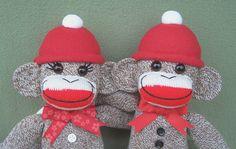 Sock Monkey BFF's