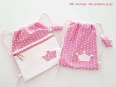 Backpack Pattern, Tote Pattern, Operation Shoebox, Pop Couture, Polka Dot Bags, Baby Hands, Felt Diy, Kids Bags, Sewing For Beginners