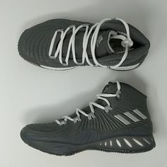 new photos 6dbec fe22c Adidas Crazy Explosive 2017 Boost Basketball Shoes BY3767 Grey New