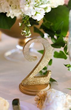 Beautiful table numbers for the wedding tablescape and these go well with so many centerpieces! Customizable with over 36 color options to choose from.