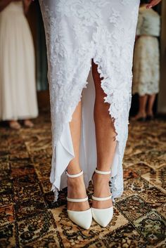 gorgeous wedding shoes - grace loves lace dress - new zealand wedding https://bellanblue.com