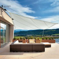 Another sunshade patio