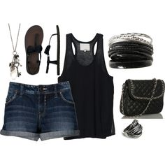 summer, created by saraw330 on Polyvore
