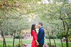 Golden Gate Park Engagement Session | Photo by Indu Huynh Photograph #engagement #wedding