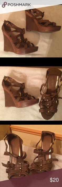 Sandals Brown sandals Aldo Shoes Sandals