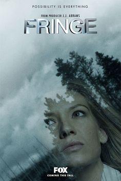 Fringe TV Series (2008) Promo Poster, le genre de série qu'on est triste de voir se terminer, on voudrait vraiment que ça dure! les Bishop ça me font souvent pensé a la petite ville de Bishop's qui est à 10 minutes de chez moi :)