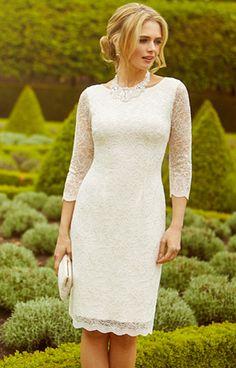 Katherine Lace Wedding Dress Ivory by Alie Street