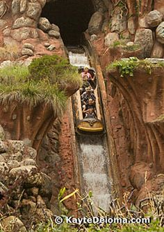 Splash Mountain in Critter Country at Disneyland, CA