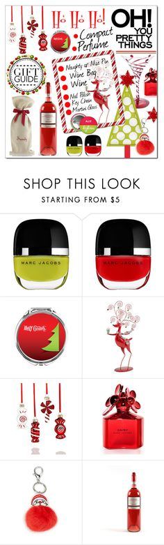 """""""Gift Guide * Besties"""" by calamity-jane-always ❤ liked on Polyvore featuring Marc Jacobs, North Pole Trading Co., Holiday Lane, Carole, Mark & Graham, besties, marcjacobs and fashionset"""