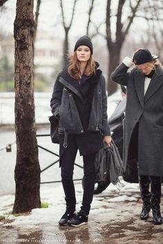 Que tipo de look usar em viagens nos períodos frios e de neve?