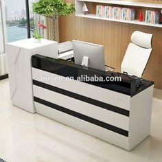 2016 Low Price Hotel Commercial Counter Table Hotel Modern Reception Counter  Design
