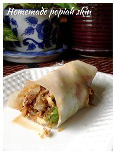 Malaysian Singaporean Chinese Food–Popiah or Spring Rolls Sarawak Style (干式薄饼)#guaishushu  #kenneth_goh   #popiah   #薄饼