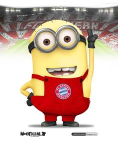 And I shall name him Philipp Lahm and he shall be my minion, and have giant eyebrows and be short and just be awesome in general.