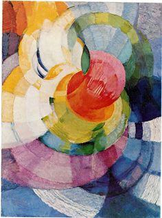 František Kupka (1871-1957) Disks of Newton. 1919