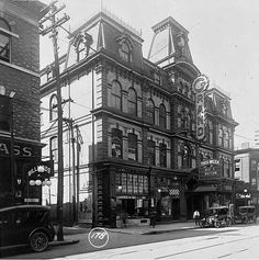 Toronto, Grand Opera House Built in 1874, demolished in 1927, replaced by Scotia Bank