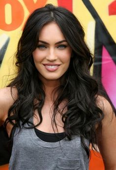 Megan Fox- hair and shirt combo