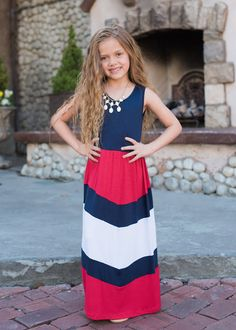 Pretty Girl Maxi Red, Red, Sleeveless Maxi, Girl's Dress, Mommy and Me, Matching, Online Boutique, Online Shopping, Cute, Fashion, Style, Boutique, Kid's Clothing, Kid's Boutique, Ryleigh Rue Clothing