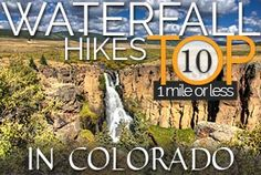 Elk Falls - Best Waterfall Near Denver Opens to the Public | Day Hikes Near Denver - Explore The Best Hiking in Colorado