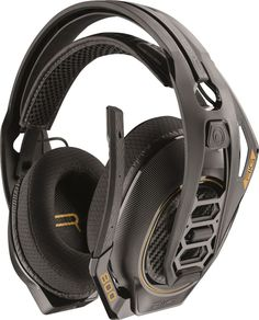 Plantronics - RIG 800HD Wireless Dolby Atmos Gaming Headset for PC - Black  Headphones For Ps4 713ff553facc