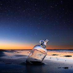 a bottle of dreams by foureyes on DeviantArt