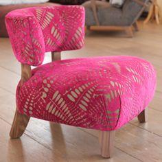 pink short chair