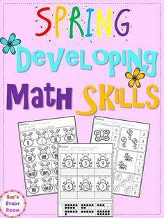 Spring Developing Math Skills for PreK and K