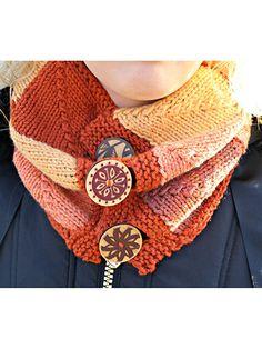 Knitting - Fall Cowl - #REK0644