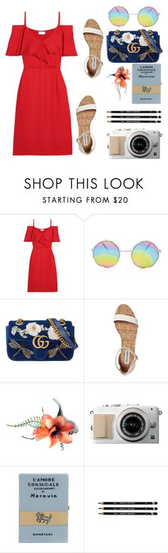 """She's a good girl"" by shealwaysfashion ❤ liked on Polyvore featuring Paul & Joe, Gucci and Olympia Le-Tan"