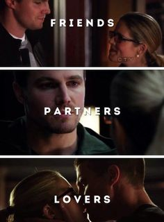 Arrow - Oliver Queen & Felicity Smoak
