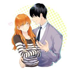 Manhwa Manga, Anime Manga, Anime Art, Anime Couples, Cute Couples, Cheese In The Trap Webtoon, Dramas, Trap Art, The Kingdom Of Magic