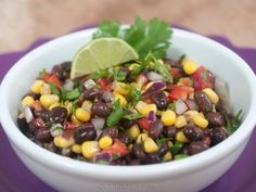 Southwestern Salsa With Black Beans
